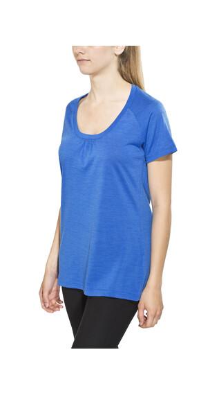 Bergans Sveve Kortærmet T-shirt Damer blå